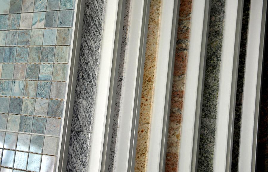 Granit Katalog, Sorten, Farben und Formate